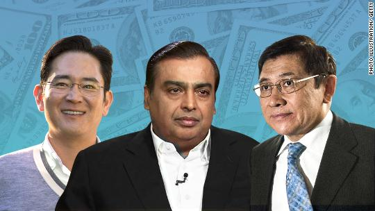 How crazy rich are Asia's wealthiest families?