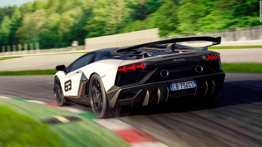 See Lamborghini S New Aventador Svj Supercar