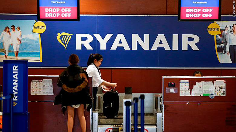 Ryanair changes baggage policy again