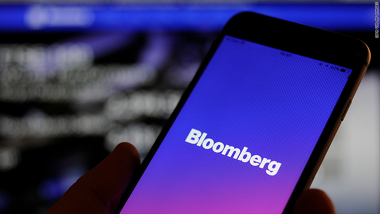 bloomberg phone logo