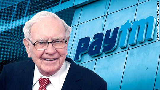 Warren Buffett is investing in Paytm