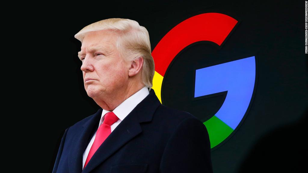 Does Trump have a point about Google?