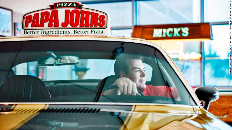 John Schnatter Papa Johns RESTRICTED