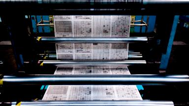 Newspapers get a break on Trump tariffs