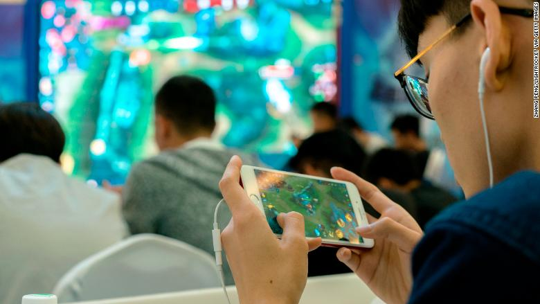 tencent gaming arena of valor RESTRICTED