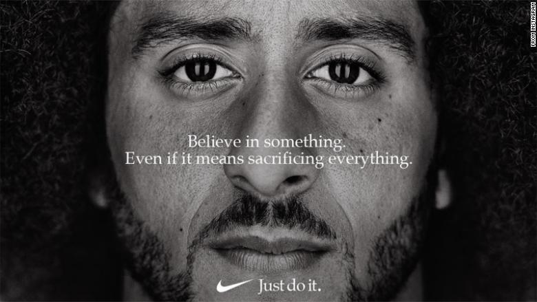 Colin Kaepernick chosen to be face of new advertising campaign by Nike