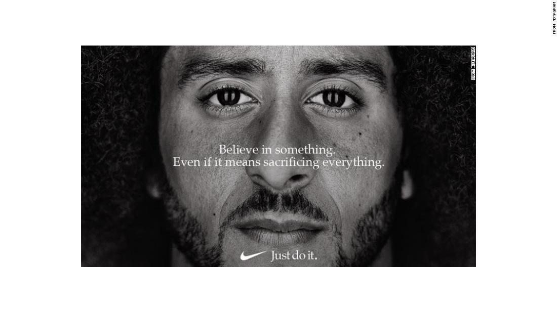 58e3be1cc2f6 New Nike ad features Colin Kaepernick