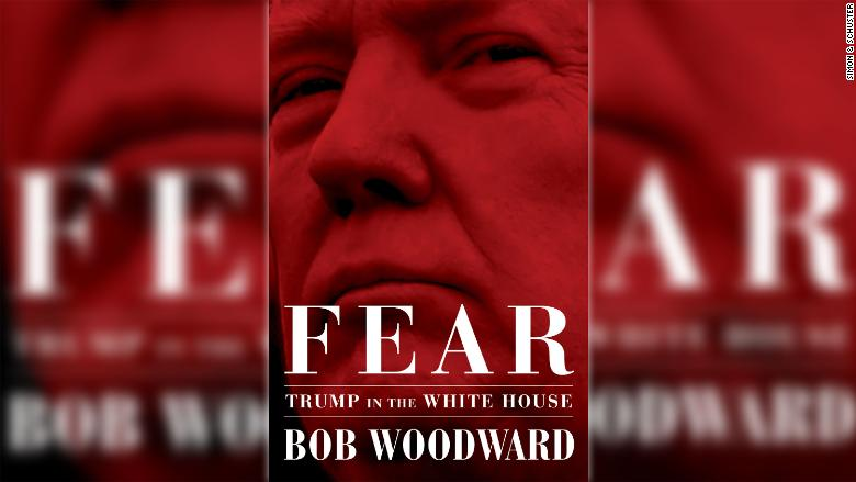 Trump pushes back again on Woodward book before release date