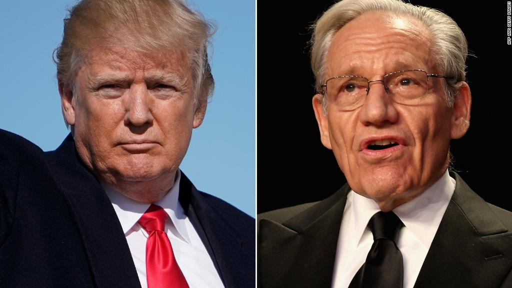 Woodward book reveals 'crazytown' White House