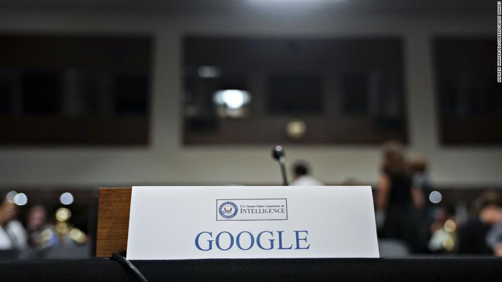 Sen. Warner 'deeply disappointed' Google not on Capitol Hill