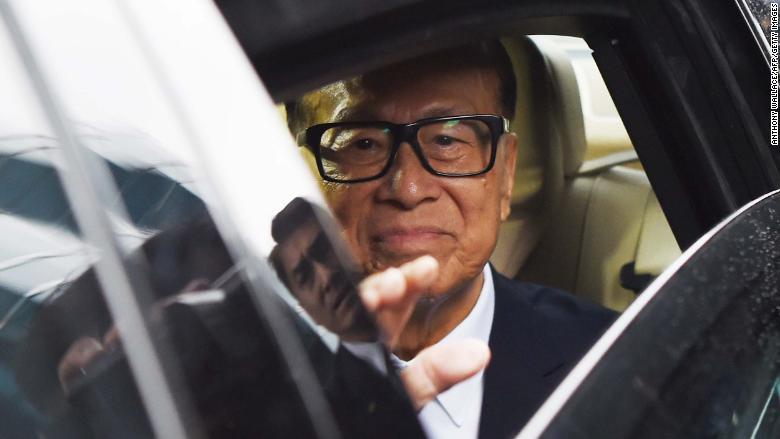Li Ka-shing FILE
