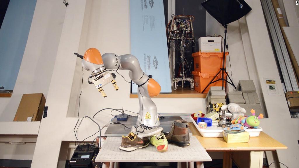 Machine vision for MIT robots