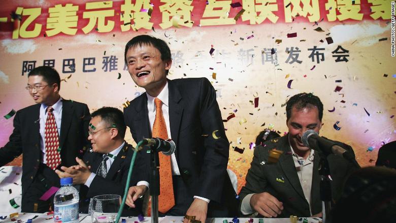 Jack Ma Yahoo stake