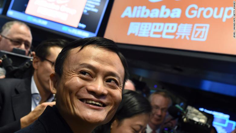 Alibaba Jack Ma IPO