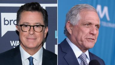 Stephen Colbert once again calls out former boss Les Moonves over new allegations