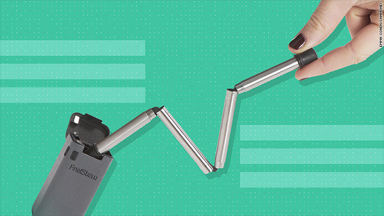 This foldable metal straw raised nearly $2 million on Kickstarter