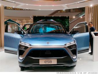 China's wannabe 'Tesla killer' goes public in New York