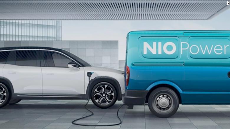 nio power charging