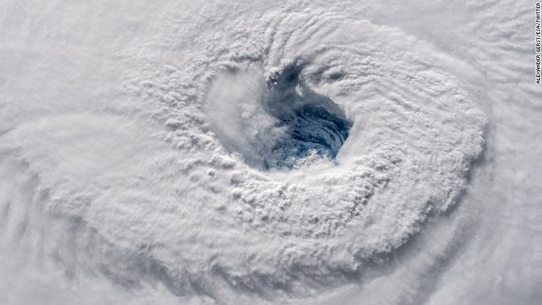 hurricane florence satellite