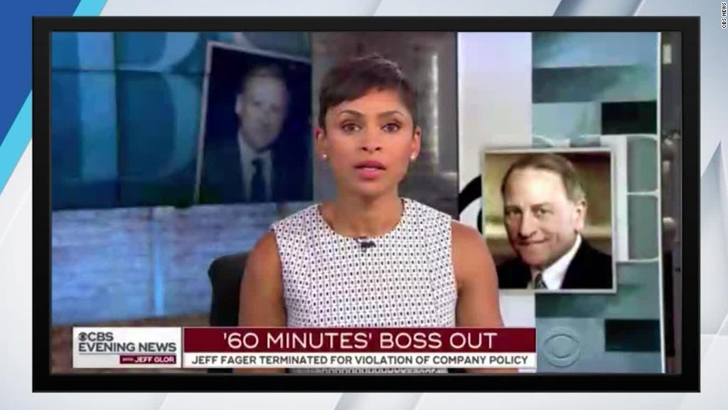 CBS reporter reveals Jeff Fager text message