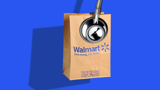Walmart wants to bring its 'everyday low prices' to health care