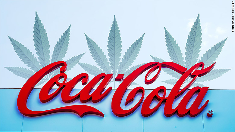 Coke Could Make A Move Into Cannabis Infused Drinks