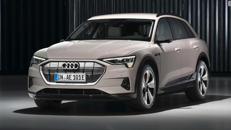 Tesla-rivaling electric Audi E-Tron SUV debuts at $75,795