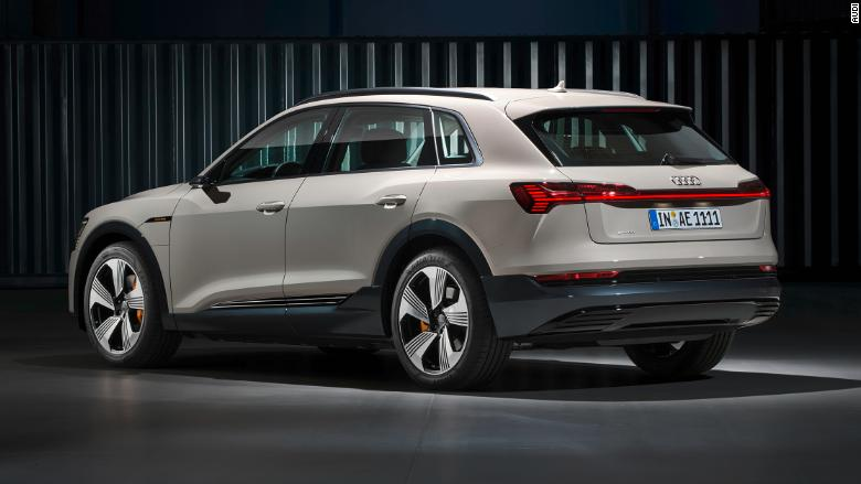 Audi's first all-electric SUV, the e-tron, revealed