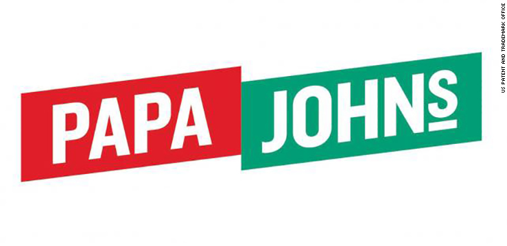 papa johns new logo