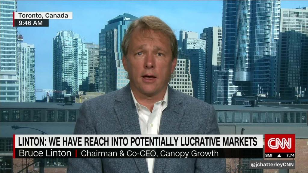 Pot company CEO optimistic the U.S. market could open up
