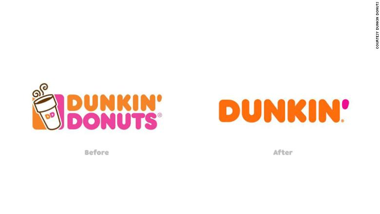 dunkin donuts new name