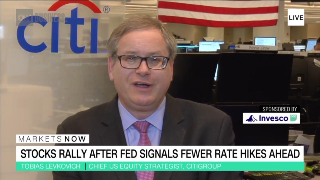 Citi strategist: Fed message is no reason to party