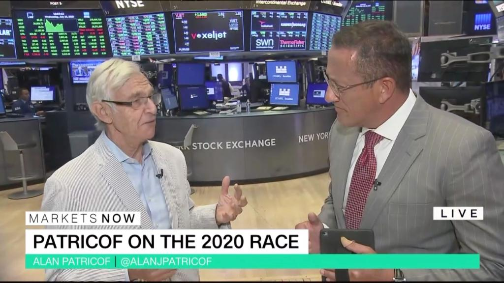 FULL SHOW 7/10/2019: Venture capital legend Alan Patricof on the future of big tech