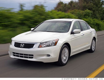 Family sedan: Honda Accord