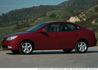 Small sedan: Hyundai Elantra