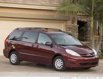 Minivan: Toyota Sienna