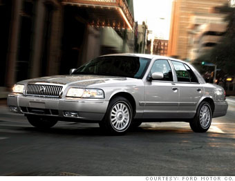 11 Worst Cars Consumer Reports Mercury Grand Marquis