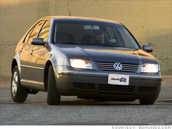 2nd place: 2005 Volkswagen Jetta TDI