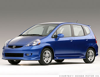 Honda Fit Mpg >> Wanted Gas Mileage And All The Goodies Honda Fit 3 Cnnmoney Com