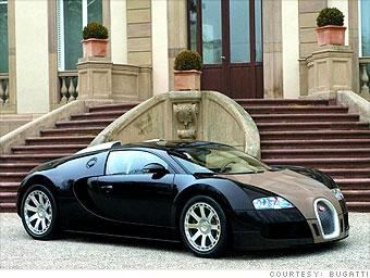 Bugatti gas mileage