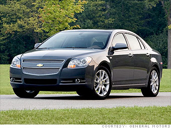 10 top road-trip cars - Family car: Chevrolet Malibu (3 ...