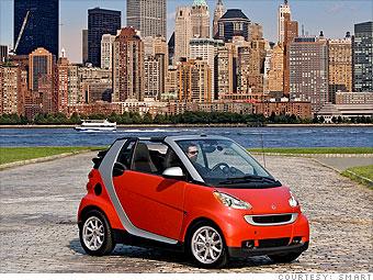 It S A Small Car World Smart Fortwo 1 Cnnmoney Com