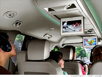 7 top road-trip tech gadgets - Back Seat TV (6) - CNNMoney.com