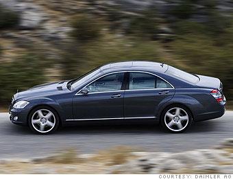 Large sedan: Mercedes-Benz S550