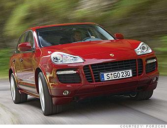 Mid-size SUV: Porsche Cayenne GTS