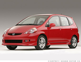 16 sweet used fuel sippers 2007 honda fit sport manual 7 rh money cnn com honda fit manual mpg honda fit mpg manual vs automatic