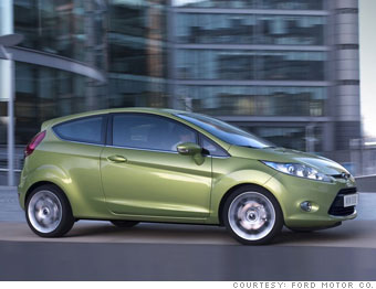 Ford S New Euro Look Ford Fiesta 1 Cnnmoney Com