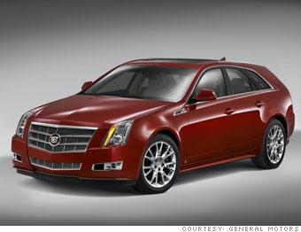 Cadillac Unveils Its First Wagon Cadillac Cts Sport Wagon 1
