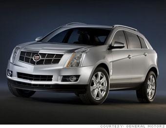 Cadillac Unveils Its First Wagon 2010 Cadillac Srx 4 Cnnmoney Com