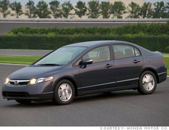 Compact car: Honda Civic Hybrid